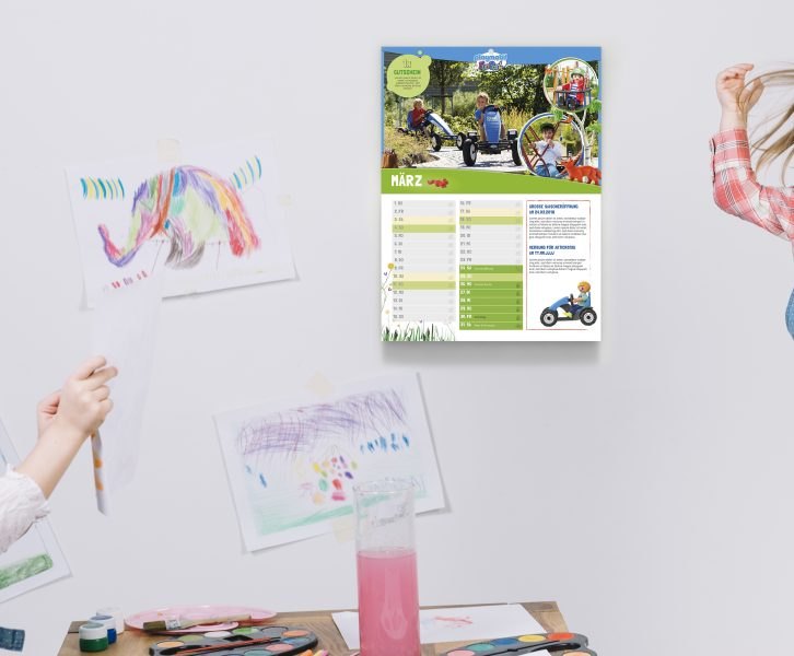 Kinderzimmer PLAYMOBIL-FunPark Kalender