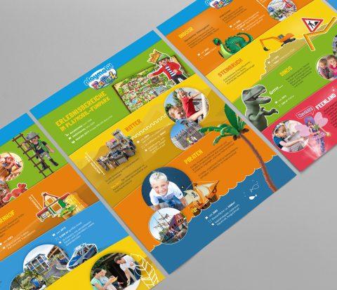 PLAYMOBIL- FunPark Infoflyer