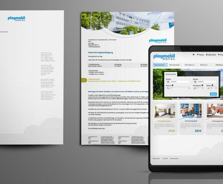 PLAYMOBIL-Hotel Corporate Design