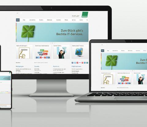 Mockup Bechtle responsive Design